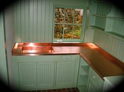 9. Copper Counter Top