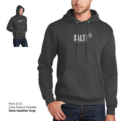 SALT Logo Classic Core Fleece Hoodie