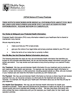 HIPAA Privacy Forms