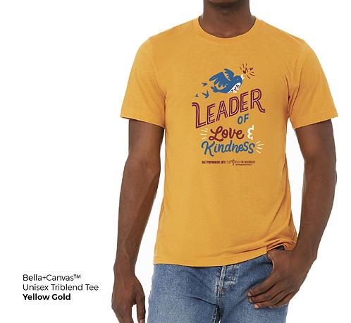 Leader of Love & Kindness Unisex Triblend Tee