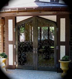 3. Meditation Garden Gates