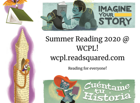 Summer Reading 2020 is ALL VIRTUAL!