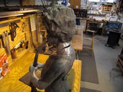 5. Heirloom Lead Sculpture Repair
