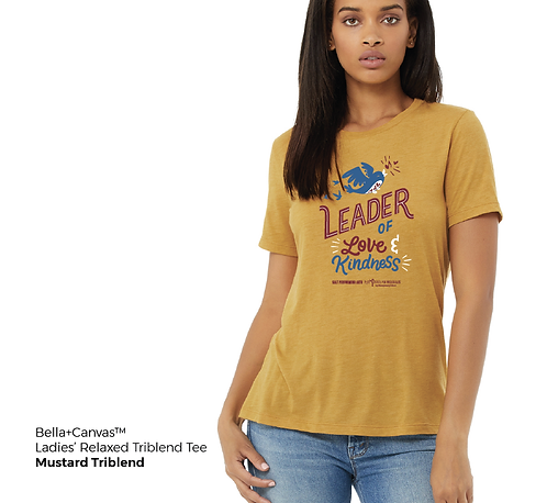 Ladies' Love & Kindness Relaxed Triblend Tee