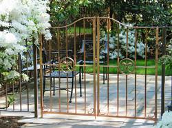 2. Copper Garden Gate
