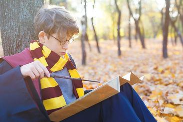 Harry Potter costume boy
