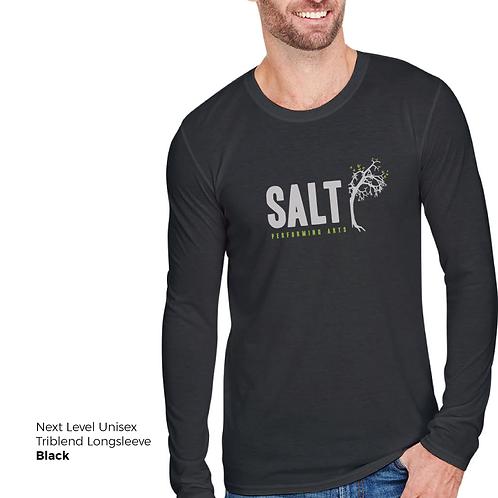 SALT Logo Longsleeve Triblend Tee