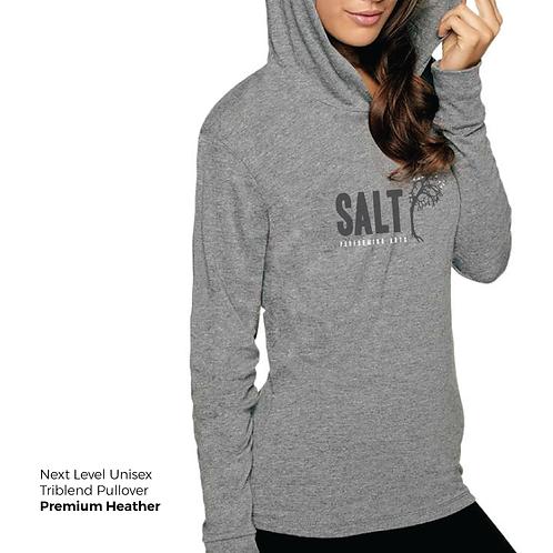 SALT Logo Longsleeve Triblend Pullover