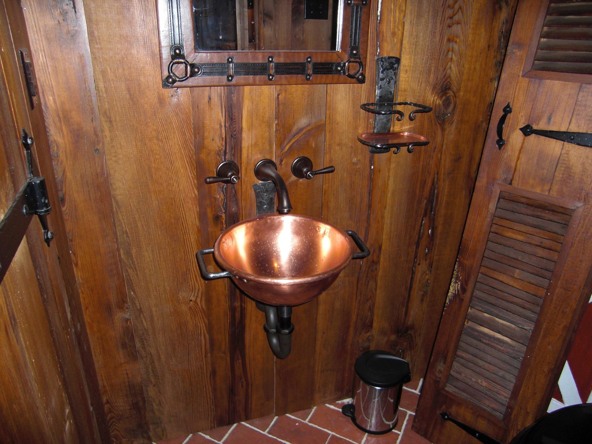 15. Tack Room Sink