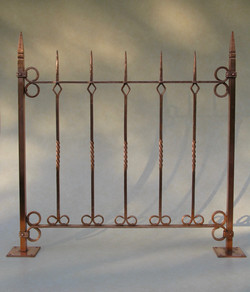 26. Solid Copper Fence Study