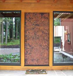 6. Copper-Clad Front Door