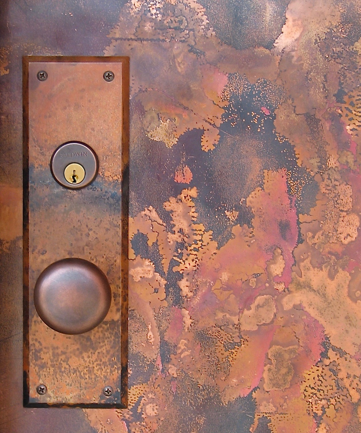10. Fire-Scaled Copper Hardware