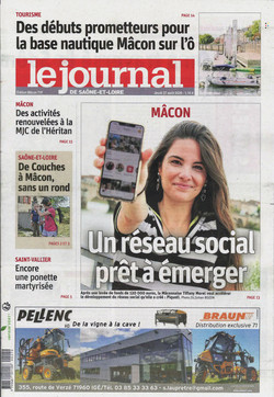 La une du journal de Saône-et-Loire