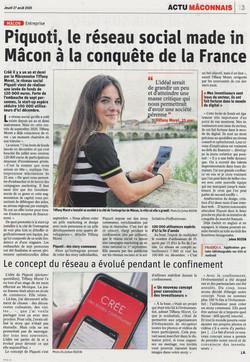 Piquoti, le réseau social made in Mâcon