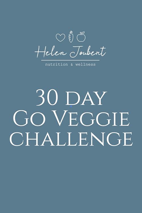 30 Day Go Veggie Challenge