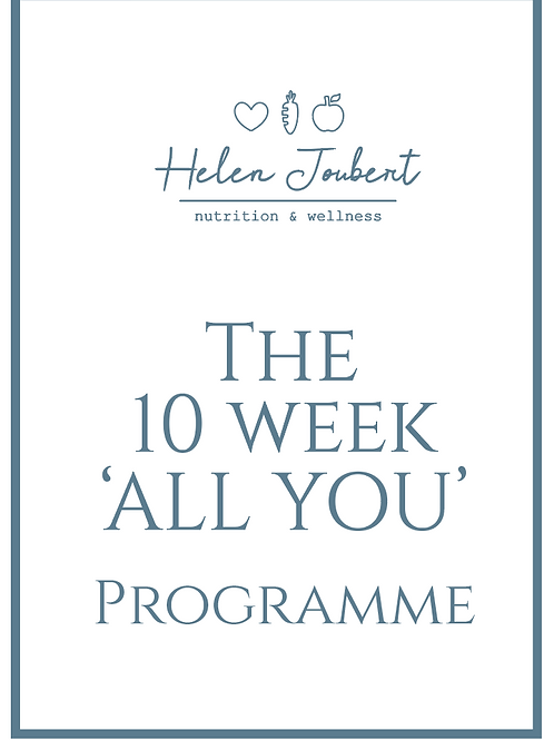 """10 Week """"All You"""" Programme"""