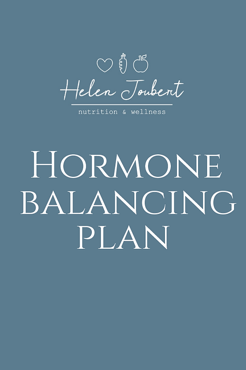 Balance Your Hormones Plan