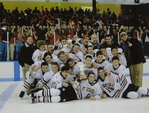 2000-01 hockey champioship team.tif