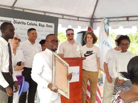 Groundbreaking Held for New Centro de Protesis Clinic in La Romana