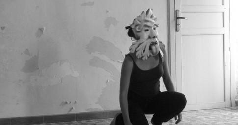La discesa delle maschere.