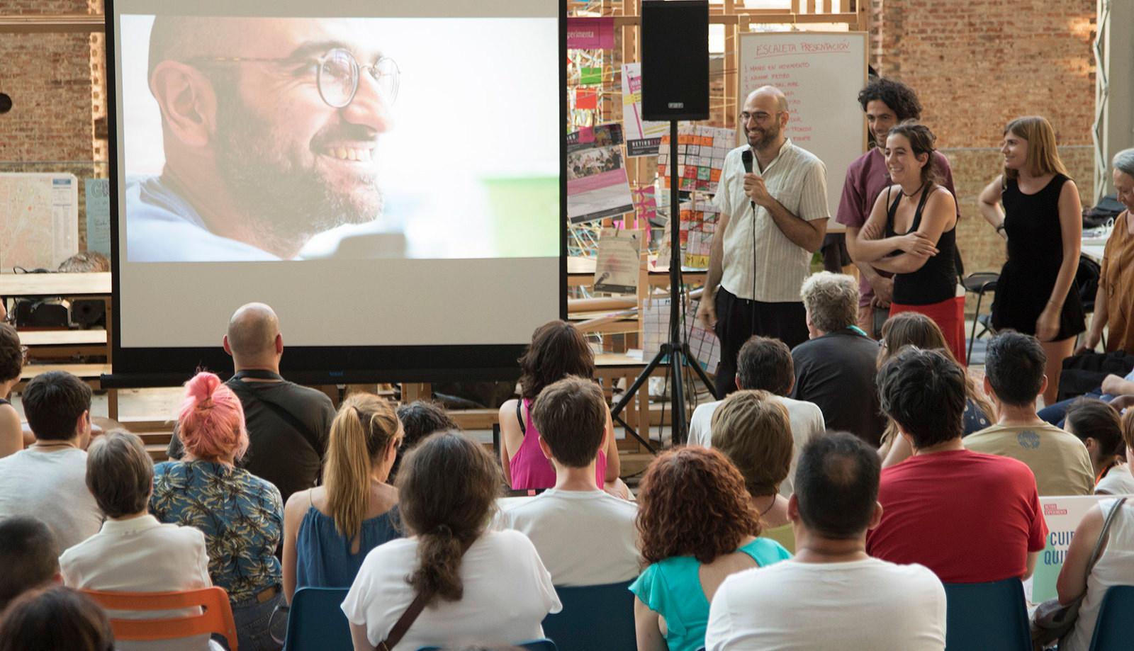 Narrar Retiro, del programa Experimenta Distrito del Ayuntamiento de Madrid, 2017.