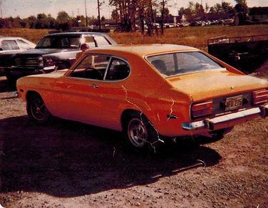 1973 Mercury Capri 2600