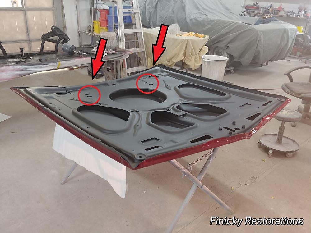 Openings under the hood