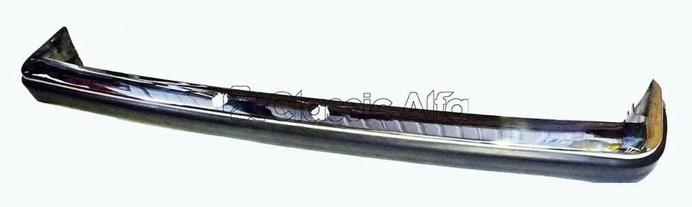 Rear stainless steel bumper