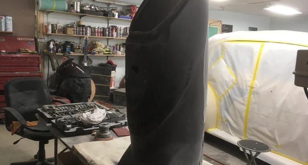 Hitch-Mount Golf Bag Carrier