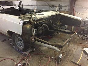 frame-up restoration or partial restoration
