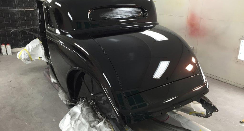 1934 Ford 5 Window Coupe