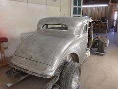 1934 Ford Coupe Paint removed