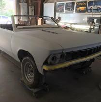 1966 Chevrolet Chevelle Convertible