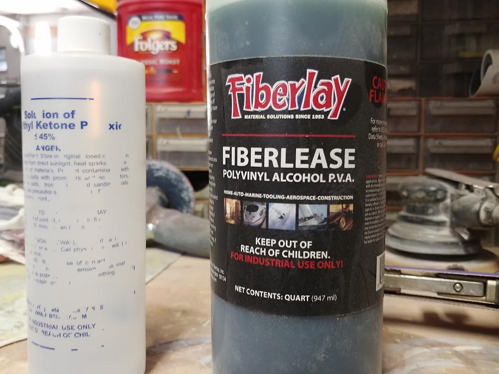 Fiberlay Release agent  P,V.A.