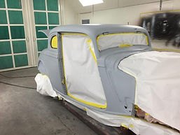 1934 Ford Coupe ready for paint