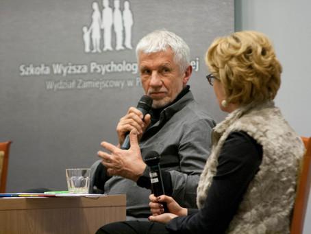 Spotkanie Joanny Zapały z Wojciechem Eichelbergerem