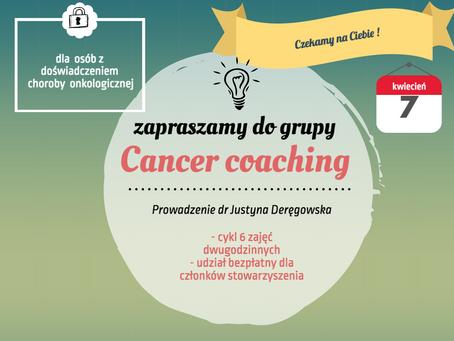 Cancer coaching - spotkania grupowe