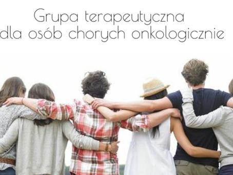 Grupa terapeutyczna dla osób chorych onkologicznie