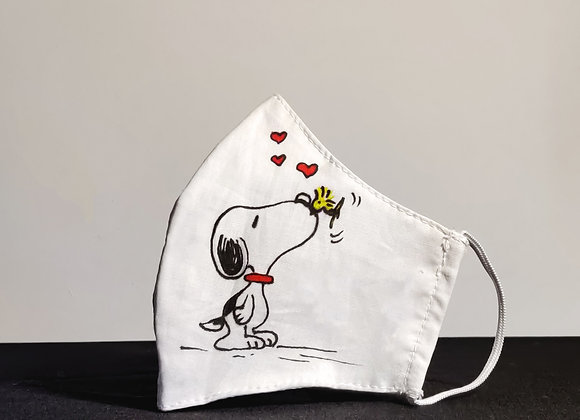 Snoopy & Woodstock Kiss