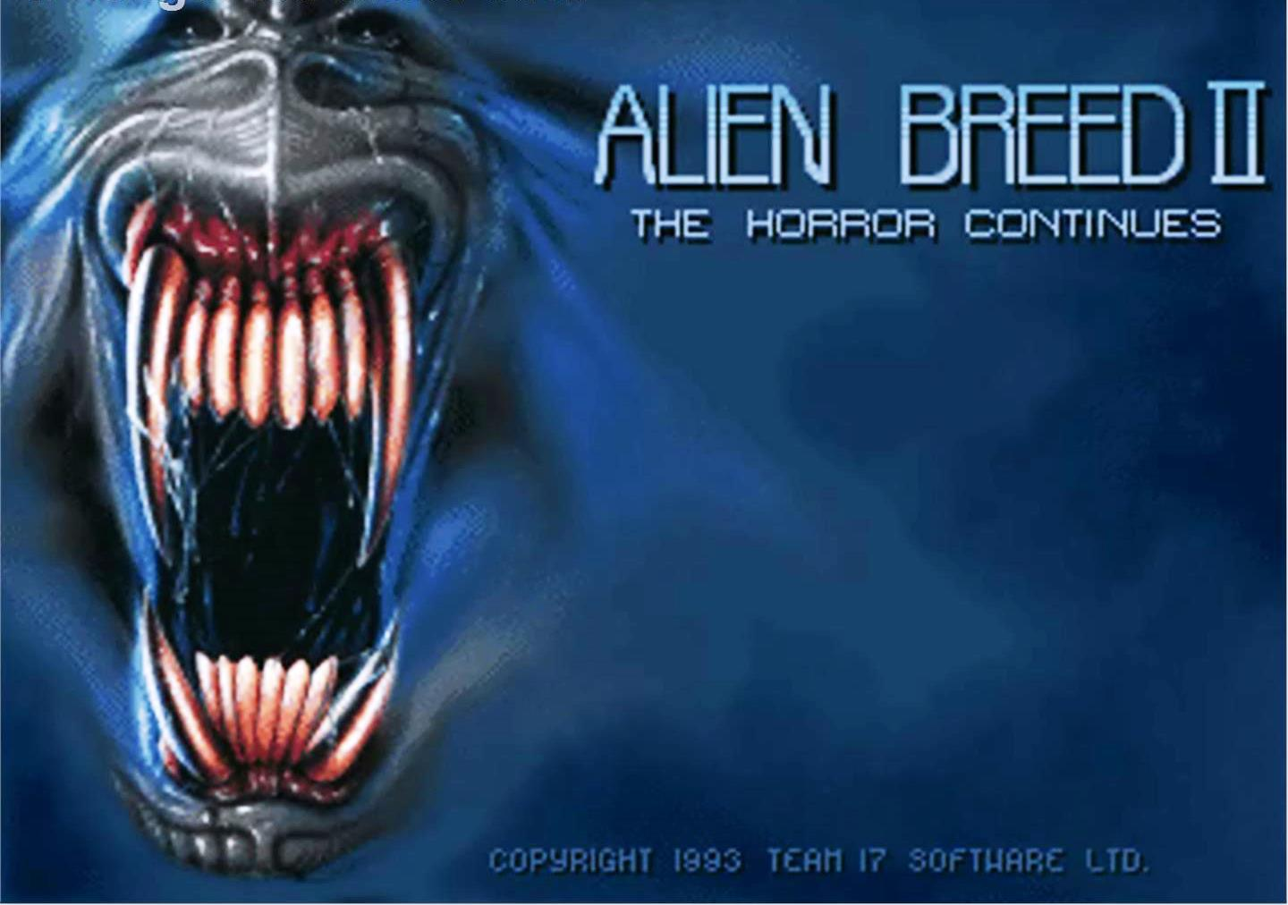 Alien Breed 2 - Title Screen