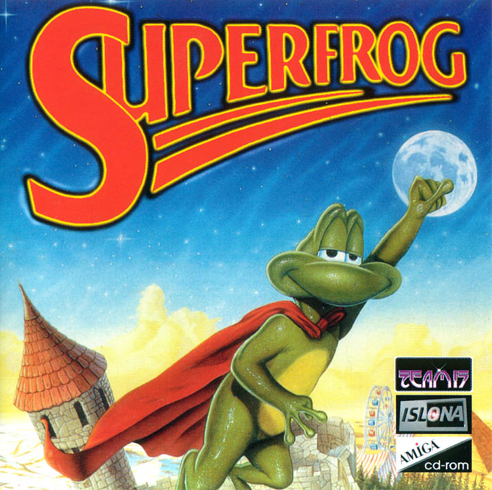 Superfrog Box Cover