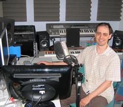 Allister Brimble - In the studio