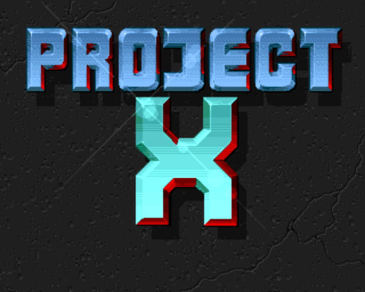 Project X Title Screen