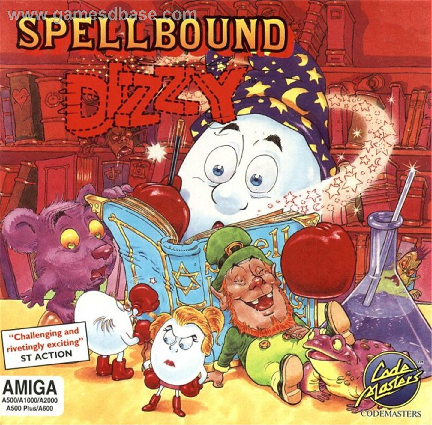 Spellbound Dizzy Box Cover