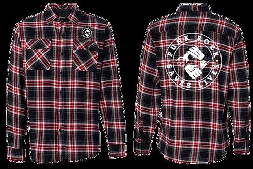 Punk Rock Saves Lives Flannel