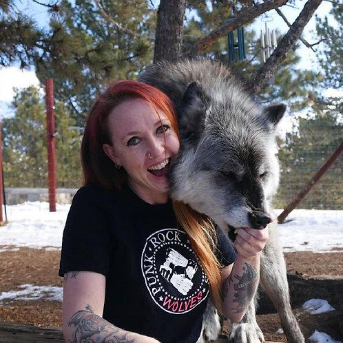 Punk Rock Saves Wolves Unisex T-Shirt