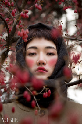 Winter Berries for Vogue Italia