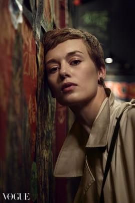 Varvara   Portrait Series   for Vogue Italia