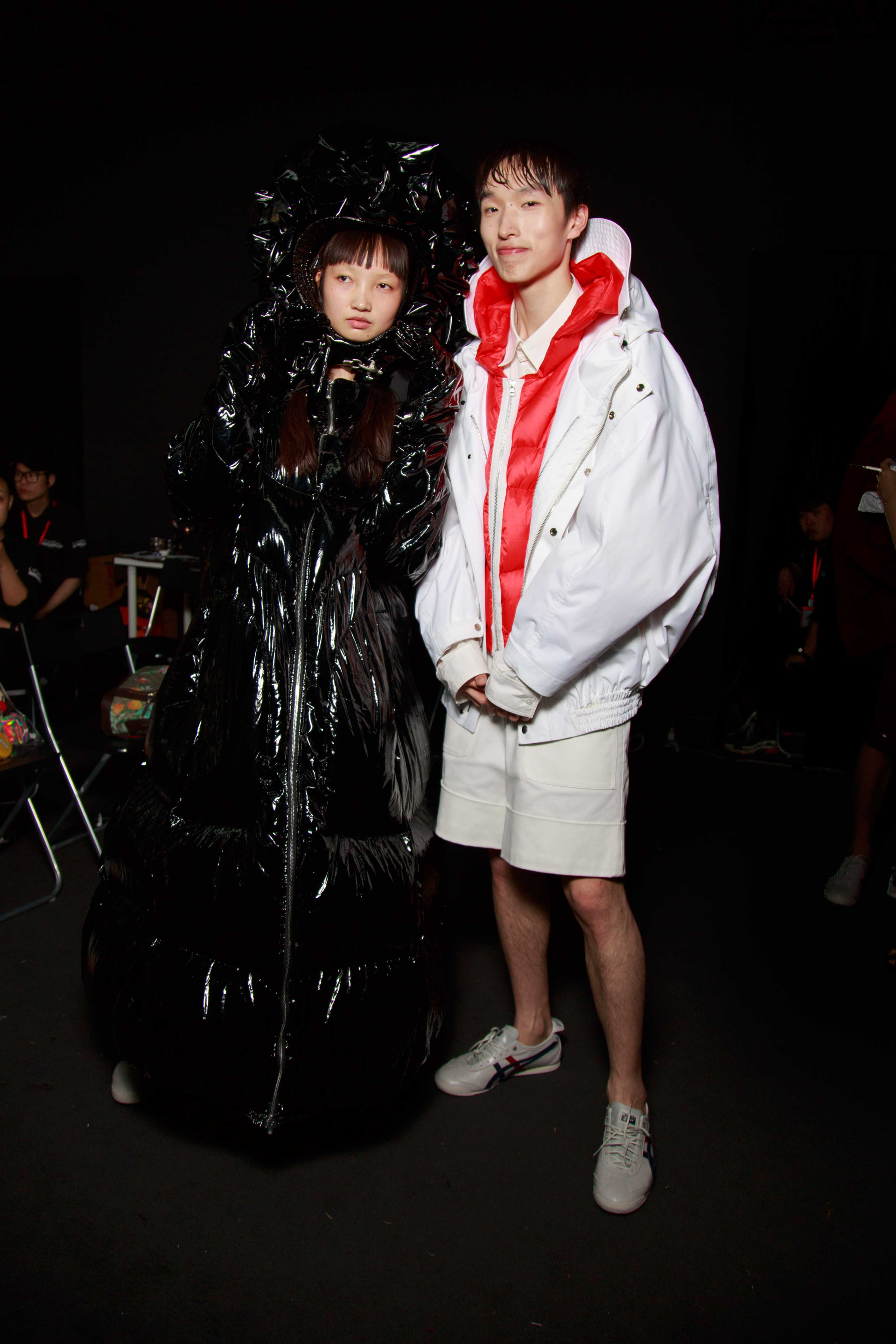 Chen Peng FW'2018 Backstage for Elle China