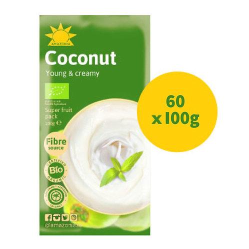 Amazonia Coconut 60 x 100g Packs